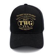 TWG Tea โลโก้ Unisexe ผู้ชายผู้หญิงหมวกเบสบอลหมวกกีฬาหมวกกลางแจ้งหมวก