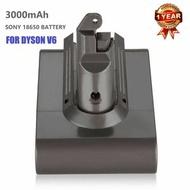 河田 - Dyson V6 DC58 DC59 DC61 DC62 DC74 系列代用鋰電池 Battery 3000 mAh