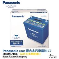 Panasonic 藍電池 80B24L 【日本原裝好禮四選一】 銀合金 46B24L 升級款 電瓶 哈家人