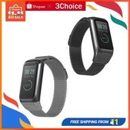 適用 華米 Huami AMAZFIT 米動手環 2代 COR 2 錶帶 智慧運動手環 米蘭尼斯金屬磁吸腕帶不銹鋼配件