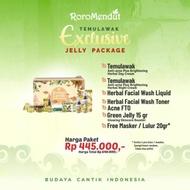 Exclusive Anti Acne Temulawak Package Jelly Roro Mendut
