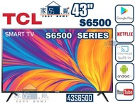 """TCL - 43S6500 43"""" Android™系統 Google Play 