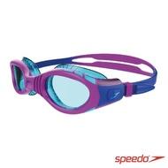 【SPEEDO】兒童運動泳鏡 Futura Biofuse Flexiseal(紫/薄荷綠)