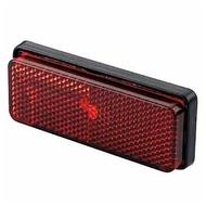 【德國Louis】摩托車反光片 紅色反射片鎖螺絲固定式歐盟認證重型機車重機速克達改裝方形矩形警示片反光片10026059