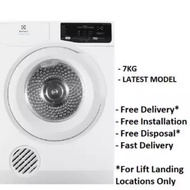 Combo deal- Electrolux EWF7525EQWA 7.5 KG Front Load Washer +  EDV 705HQWA 7KG Vented Dryer