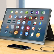 台灣現貨15.6吋超清便攜式螢幕 便攜螢幕 便攜式顯示器hdmi筆電支援Type-c手機屏幕外接ps4任天堂switch