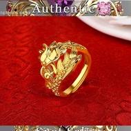 Ring of Gold Chrysanthemum 916 / Flower Gold Ring 916
