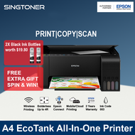 [Local Warranty] Epson EcoTank L3250 L-3250 3250 Replacement For L3150 L-3150 3150 All-in-One Ink Tank Inkjet Printer colour printer color inkjet printer color printer ink tank printer inktank printer