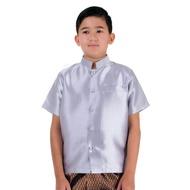 เสื้อไหมเด็กชาย เสื้อไหมเด็ก เสื้อชุดไทยเด็ก  ชุดไทยเด็ก ชุดไทยเด็กผู้ชาย Thai Costume for Boy