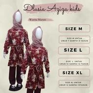 Dlusia Aziza kids by Dlusia Original Setelan Anak Katun Rayon