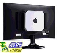 HIDEit MiniU安裝座- 獲得專利的Mac Mini壁掛式安裝 白色 [美國代購]