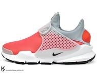 [30%OFF] 2017 NSW 藤原浩 提案設計 重新復刻 NIKE SOCK DART SE 紅灰 紅灰白 防水 慢跑鞋 HTM 襪子 FRAGMENT (911404-800) !