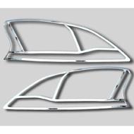 日產 仙草 2014-17 Super Sentra Sentra Aero 專用 ABS電鍍 大燈罩(一對裝)