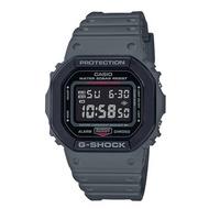 CASIO 卡西歐 DW-5610SU-8 G-SHOCK系列 街頭軍事風格電子錶 灰 48mm