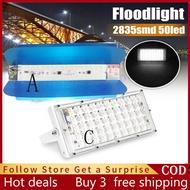 ไฟพลังแสงอาทิต LED Flood Light โคมไฟ 50Wไฟถนนโซล่าเซล กันน้ำทนทานสำหรับลานกลางแจ้งตั้งแคมป์สนามฟุตบอล