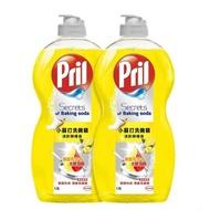 洗碗精 Pril 小蘇打洗碗精清新檸檬香 1.5公升 X 2入 洗碗精 清潔劑 好市多 COSTCO 哈帝