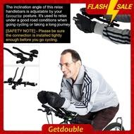 WEST BIKING 2x Bicycle TT Handlebar Rest MTB Handlebar Extension Aero Bar