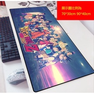 七龍珠遊戲滑鼠墊 龍珠GT 孫悟空 鍵盤墊 超大網吧桌墊 遊戲動漫鎖邊可愛帥氣滑鼠墊