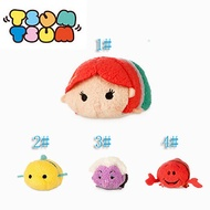 TopOne Tiny Plush Doll Mini Toy Tsum Phone Key Accessories Screen Wipe Hand Wrist The Little Mermaid