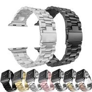 สแตนเลสใหม่สำหรับApple Watch 42mm 38Mm Series 1/2/3สายรัดโลหะสร้อยข้อมือสำหรับApple Watch Series 4 5 6 SE 44มม.40มม.