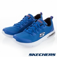 SKECHERS DYNA-AIR系列 藍色 氣墊鞋 鞋帶款 中大童 NO.R4158