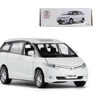 ╭。BoBo媽咪。╮盒裝 升輝模型 1:32 Toyota Previa 豐田 大霸王 普瑞維亞 休旅車 聲光回力