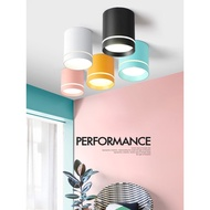 Surface Mounted Ceiling Downlight colorful downlight led lights 7W 9W 12w 15w  cob led spot lights Ceiling Fixtures Ligh