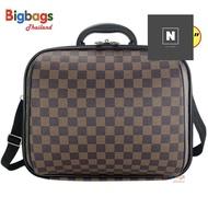 ร้านแนะนำBigbagsThailand กระเป๋าเดินทาง กระเป๋าสะพายข้าง พร้อมหูถือ สอดคันชักกระเป๋าเดินทาง 14 นิ้ว Travel Folding Bag รุ่น MZ489 ลดราคาอย่างแรงง