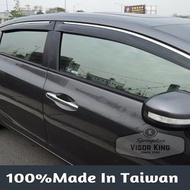【Visor King 晴雨窗 】Mitsubishi Grunder 鍍鉻飾條晴雨窗