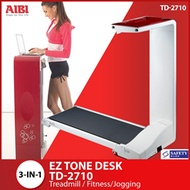 Q10 Exclusive [3 in 1 Treadmill] EZ Tone Desk TD-2710 / Treadmill / Fitness/Jogging/Home gym/ Best Seller / Aibi official