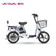 ☫۩Original authentic Emma electric bicycle Chunfeng Chunsheng 48V lithium battery small Tesco new national standard batt