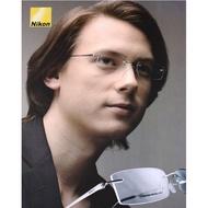 [小時光]Nikon無框近視眼鏡框 尼康男女眼鏡架 純鈦