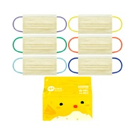 (60 Mask) Hong Kong Brand Medeis Kids N99 Yellow Surgical Mask - 3 Ply / ASTM Level 3