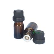 通用精油瓶 精油瓶5ml 10ml 30ml 50ml 100ml 配防盜大頭蓋 精油瓶 分裝瓶 玻璃瓶 玻璃罐