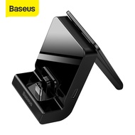 Baseus Phone Holder With Type-C Port Charging Holder For Samsung S20 20P 10 Xiaomi HuaWei P40 P20 Phone Games Watch Tv Movie Desk Holder