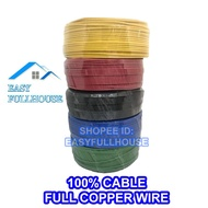 1.5MM/2.5MM WIRE CABLE 7029 100% CABLE FULL COPPER WIRE/ KABEL TEMBAGA