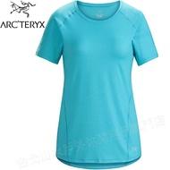 Arcteryx 始祖鳥 Tolu 快乾短袖圓領/透氣排汗T恤 23034 女款 峽灣藍