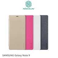 NILLKIN SAMSUNG Galaxy Note 9 星音勻皮套螢光白