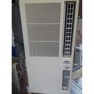 已售 待貨中 二手 中古冷氣專賣網) 聲寶直立式窗型冷氣機110V  2010 售6800+架子500  歡迎現場試機