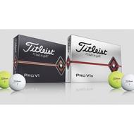藍鯨高爾夫 2019全新 Titleist Pro V1/ Pro V1x 白色 Titleist高爾夫球