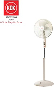 KDK P40US Stand Fan with 40cm Metal blade, Champagne