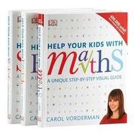 課外閱讀DK Help Your Kids with系列3冊 DK數學科學教室英文學習技巧p