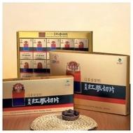 韓國高研頂級六年根高麗紅蔘切片─20gx5包/禮盒包裝