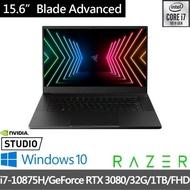 【Razer 雷蛇】Blade Advanced 15.6吋360Hz電競筆電(i7-10875H/RTX3080/32G/1TB SSD/Win10)
