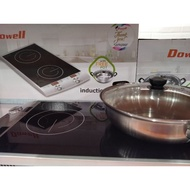 Dowell double induction cooker