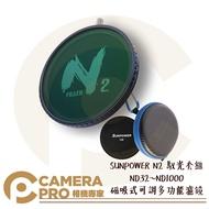 ◎相機專家◎ SUNPOWER N2 馭光套組 ND32~ND1000 磁吸式 可調多功能濾鏡 ND CPL 公司貨