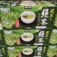 有發票 好市多代購 Kirkland 伊藤園 日本綠茶包 綠茶 (1.5g*100入)