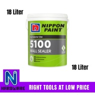 Nippon Paint 5100 Wall Sealer / Cat Undercoat Dinding Rumah- 18 Liter