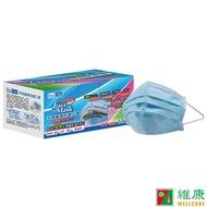[限時促銷] 菲德 成人醫療防護口罩 50片/盒 天空藍 (現貨供應/售完為止) 維康 715