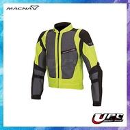 UPC 騎士精品♔ 荷蘭MACNA SUNRISE FLUO 夏季透氣五件護具 防摔衣/黑黃